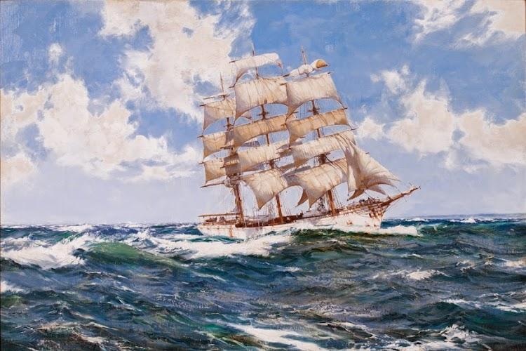 Barque HELICON. Oleo sobre lienzo de Montague Dawson (1895-1973). De la web Vallejo Gallery.jpg