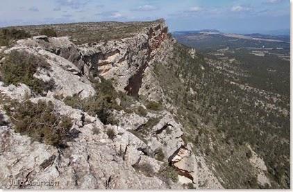 Precipicios de la sierra del Mugrón