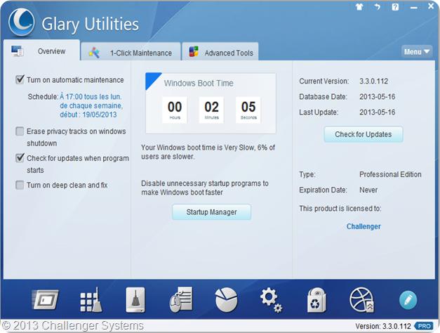 Glary Utilities 3