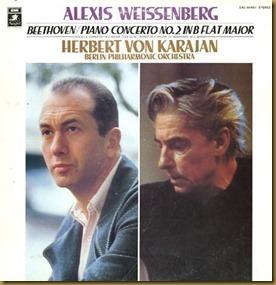 Beethoven concierto piano 2 Weissenberg Karajan