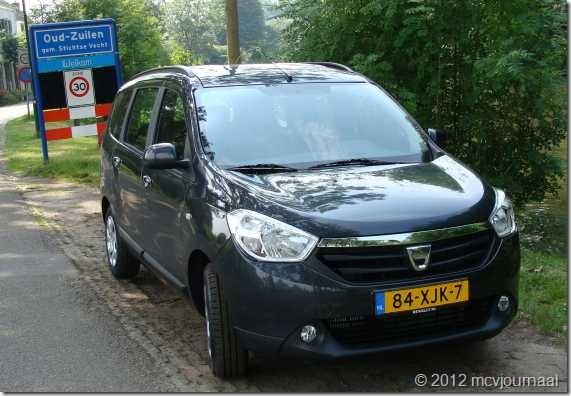 Proefrit Dacia Lodgy 02