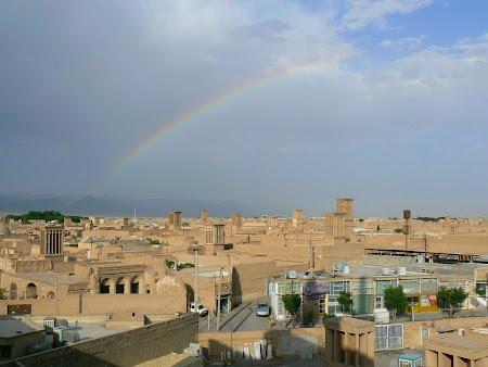 Raibow over Yazd
