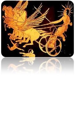 Carro solar de Helios. British Museum