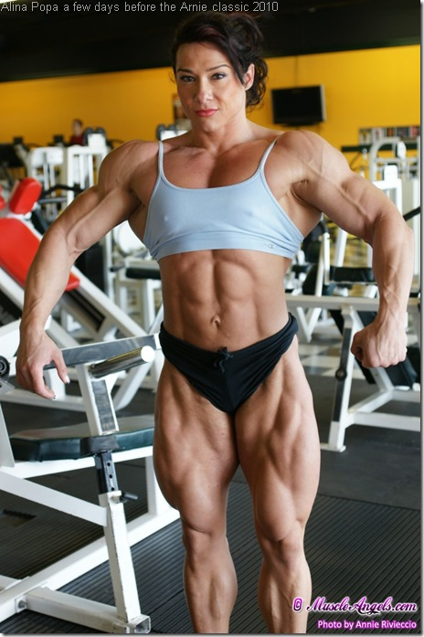 Alina Popa a few days before the Arnie classic 2010