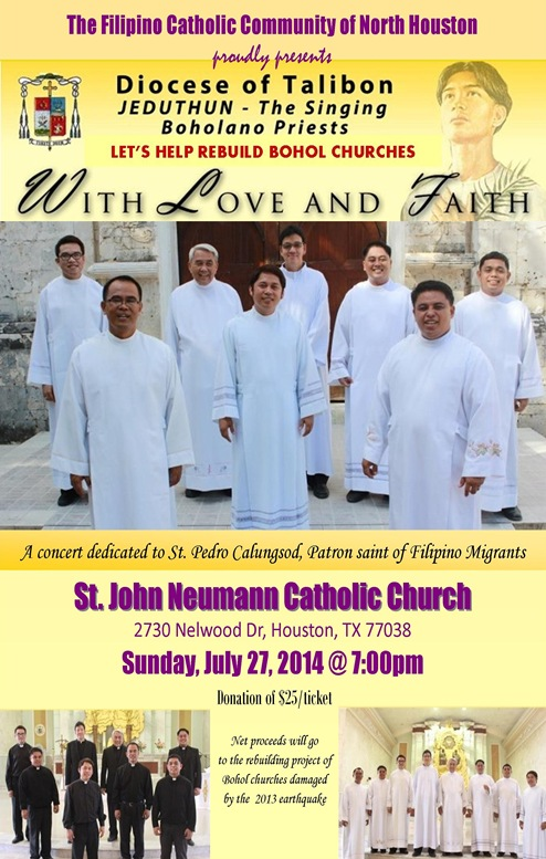 Flyer - St. John Neumann - July 27 2014 v2