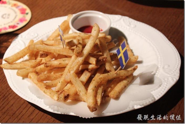 台北-美麗華金色三麥。生日套餐,薯條