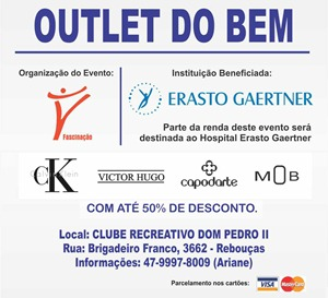 Bazar do Erasto outlet do bem