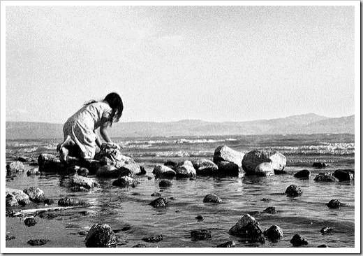 Caminhar sobre as pedras