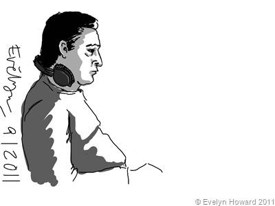 Ipad sketch © Evelyn Howard 2011