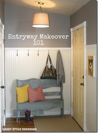 entryway makeover 101
