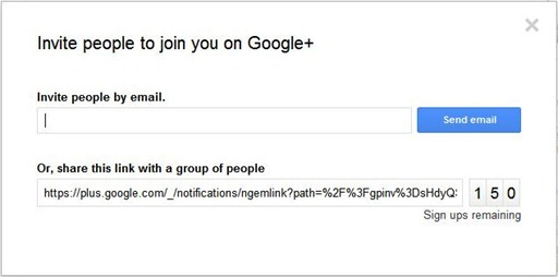 invites-to-googleplus