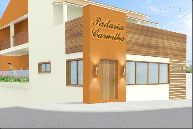 Fachada Padaria Carvalho 1