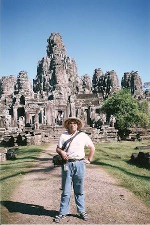 Temple Cambogia: Bayon - Angkor Wat