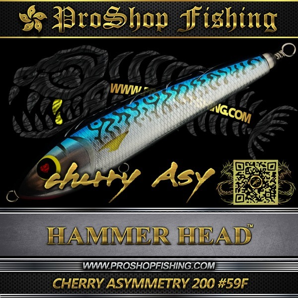 hammerhead CHERRY ASYMMETRY 200 #59F.3