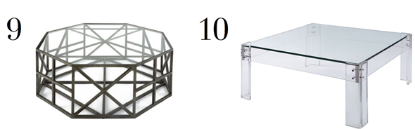 LDV Top 10 Coffee Tables | www.ladolcevitablog.com