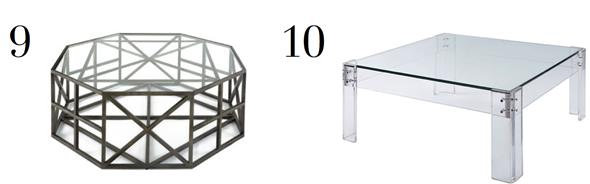 LDV Top 10 Coffee Tables | www.ladolcevitablog.com