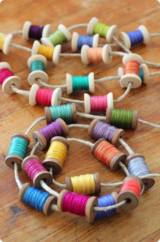 spool and thread garland from alwaysinwonder (8)