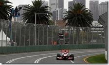 Button nelle prove libere del gran premio d'Australia 2011