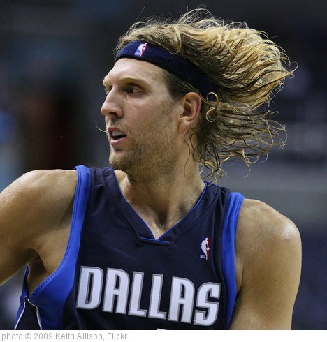 'Dirk Nowitzki' photo (c) 2009, Keith Allison - license: http://creativecommons.org/licenses/by-sa/2.0/