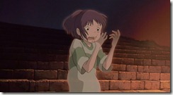 Spirited Away Chihiro Turning Invisible