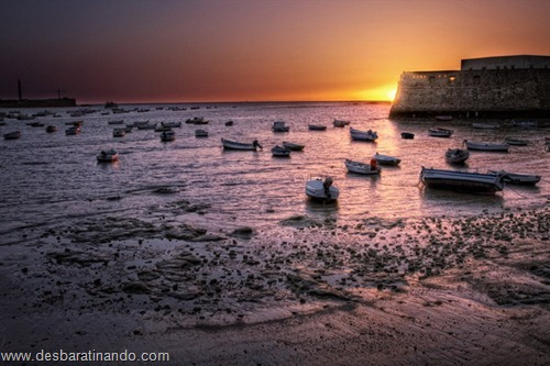 Sonnenuntergang in Cadiz