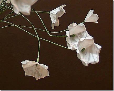 flores de papel dia de la madre