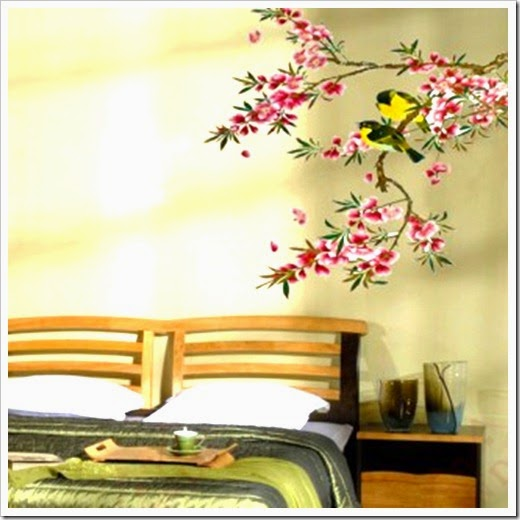 Tree wall art decal