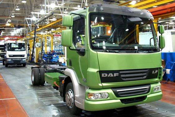 Camiones DAF LF Hybrid