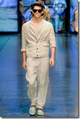 D&G Menswear Spring Summer 2012 Collection Photo 8