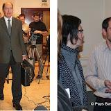Brian Currin et Paul Rios deux des artisans de la Conférence pour la Paix