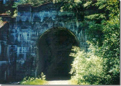 East Portal of the old Cascade Tunnel in 2000