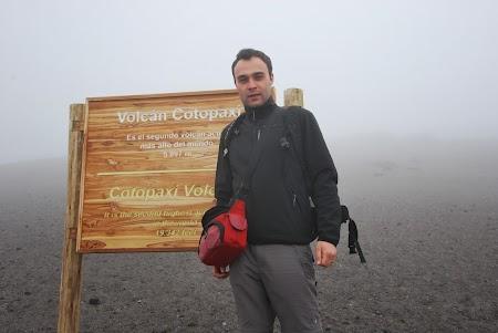 Cazare traditionala Ecuador: varful vulcanului Cotopaxi