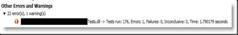 Build Errors