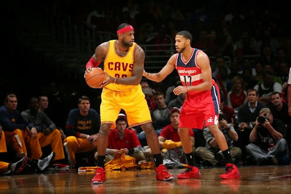 LBJ Rocks New  Old LeBron XII Cavs PE in 3rd Straight Loss