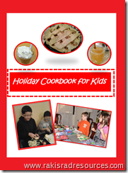 Free holiday cookbook for kids