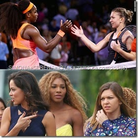 Serena Williams and Simona Halep Love