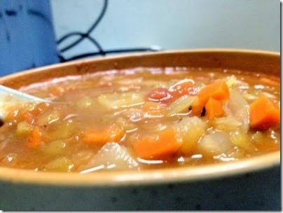 Baked bean tomato soup