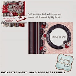 Romajo - Enchanted Night - Brag Book Page Preview