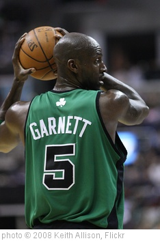 'Kevin Garnett' photo (c) 2008, Keith Allison - license: http://creativecommons.org/licenses/by-sa/2.0/