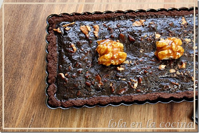 tarta chocolate nueces 4