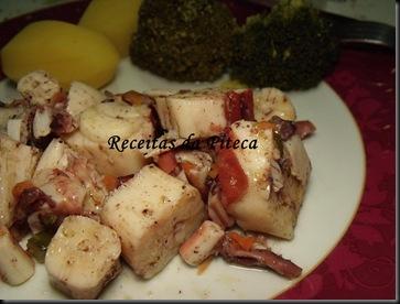 Salada de tentáculos de pota