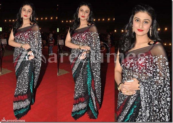 Black_Designer_Embellished_Saree