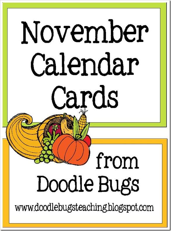 novembercalendarcards