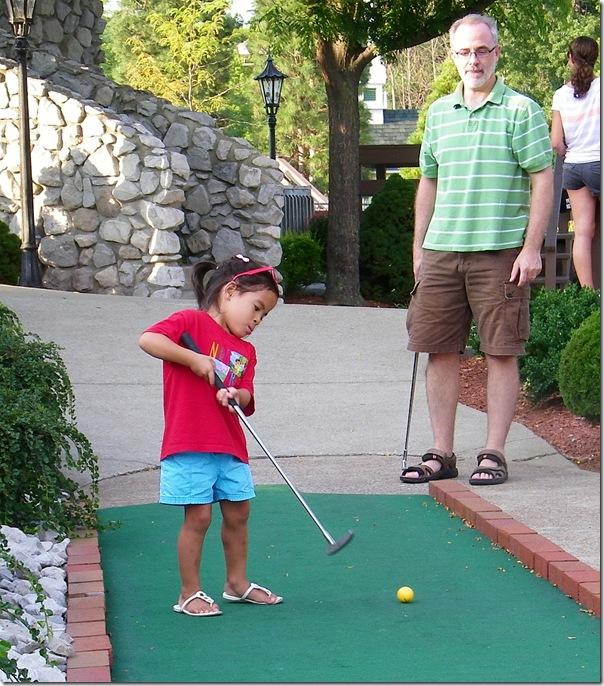 mini golf sarah