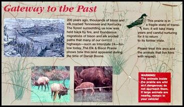 06b - Elk and Bison Prairie Sign
