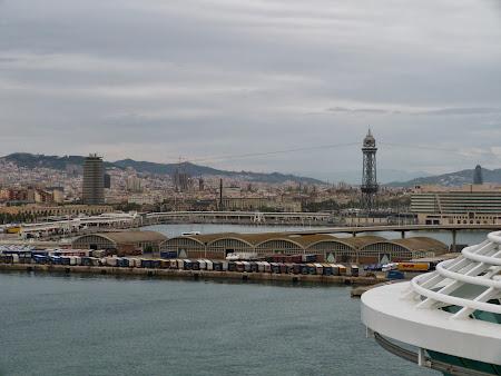 Croziera pe Mediterana: Sosire la Barcelona
