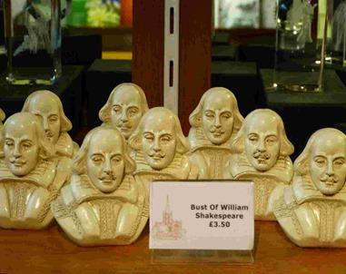 Бюсты Уильяма Шекспира