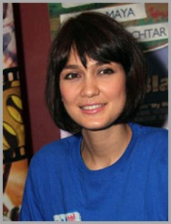 Bob Hair Luna Maya become a trend in 2012