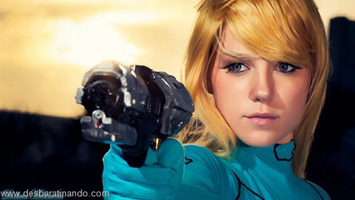 Mashup Metroid Star Wars samus cosplay blonde  (2)