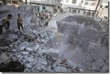 Bombardamenti nella Striscia di Gaza[4]